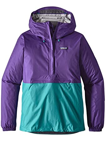 Amazon.com : Patagonia Torrentshell Pullover Rain Jacket Purple ...